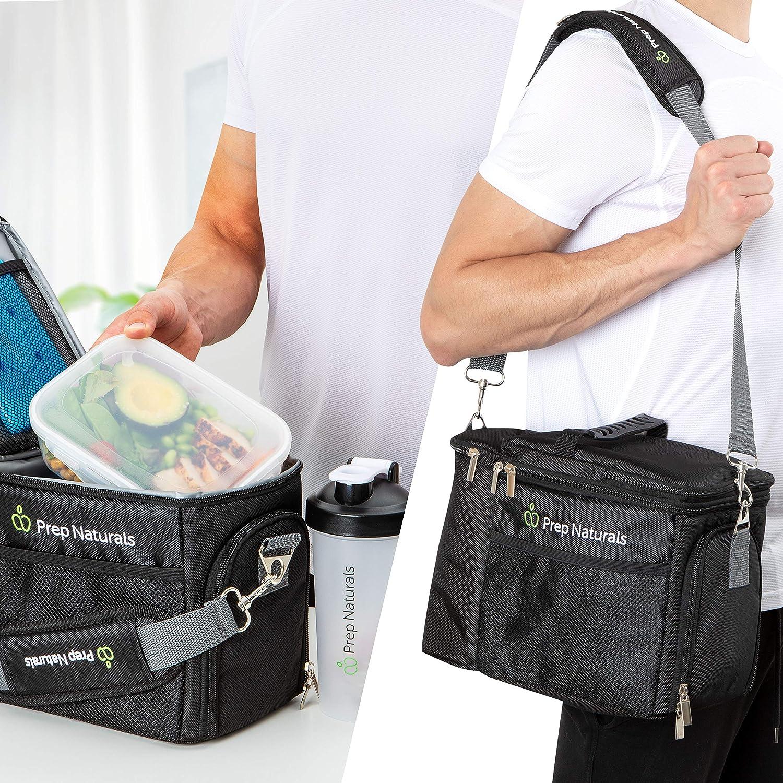 Amazon.com: Fiambrera para preparar comidas, bolsa térmica ...