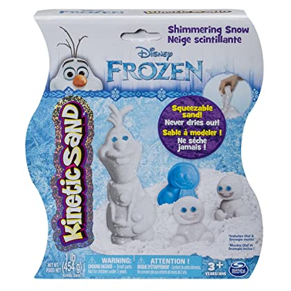 Kinetic Sand – Disney's Frozen - Shimmering Snow Olaf
