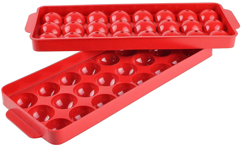 Hutzler Ice Ball Tray -Ice Spheres, Natural Gourmac 324