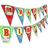 Amazon.com: Splish Splash Lime Happy Birthday Banner Pool ...