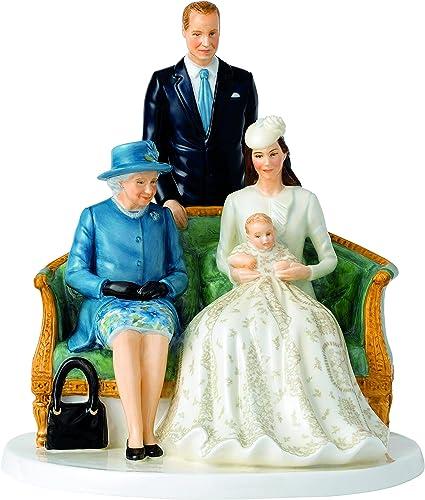 Royal Doulton Her Majesty A Royal Christening Figurine, 9.6
