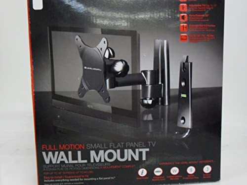 Level Full Motion Wall Mount Up to 32 Television Screen