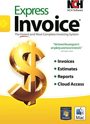 amazon com express invoice software for managing invoices and