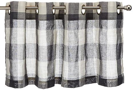 Amazon.com: LORRAINE HOME FASHIONS 09570-V-00109 Gray ...