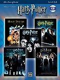 Harry Potter, Instrumental Solos Book & CD (Movies 1-5): Alto Sax