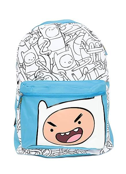 Con capucha de hora de mochila de la hora de aventuras: Amazon.es: Ropa y accesorios