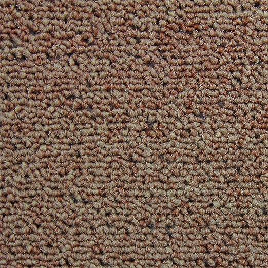 Losetas de Moqueta Pack de 20 5m2 Parches para Moqueta Hogar Oficina Color Marrón: Amazon.es: Hogar