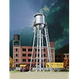 Walthers Cornerstone 933-3833 Vintage Water Tower Assembled, N Scale, Silver