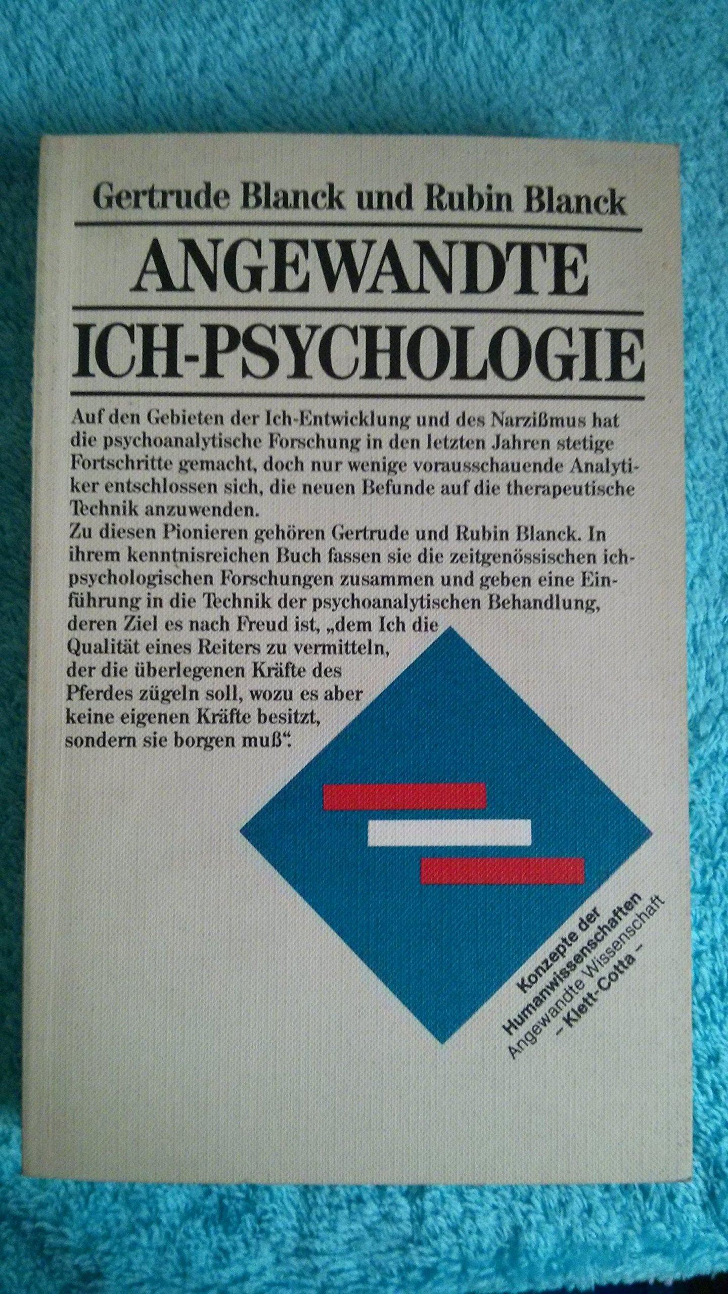 Angewandte Ich-Psychologie