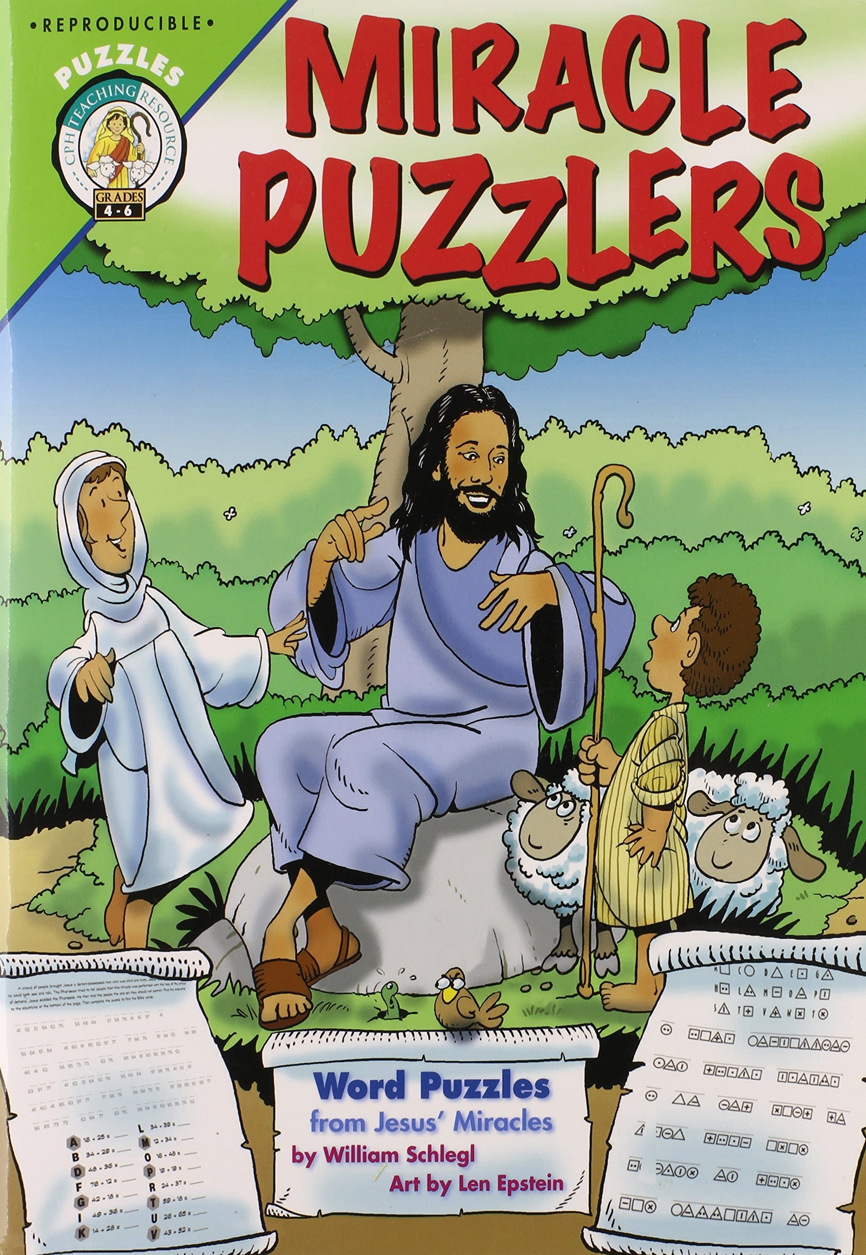 Download Miracle Puzzlers: Word Puzzles from Jesus' Miracles (CPH Teaching Resource) pdf