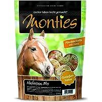 Monties Pferdeleckerlis, Karotte-/Kräuter-Snacks, Extrudiert, Größe