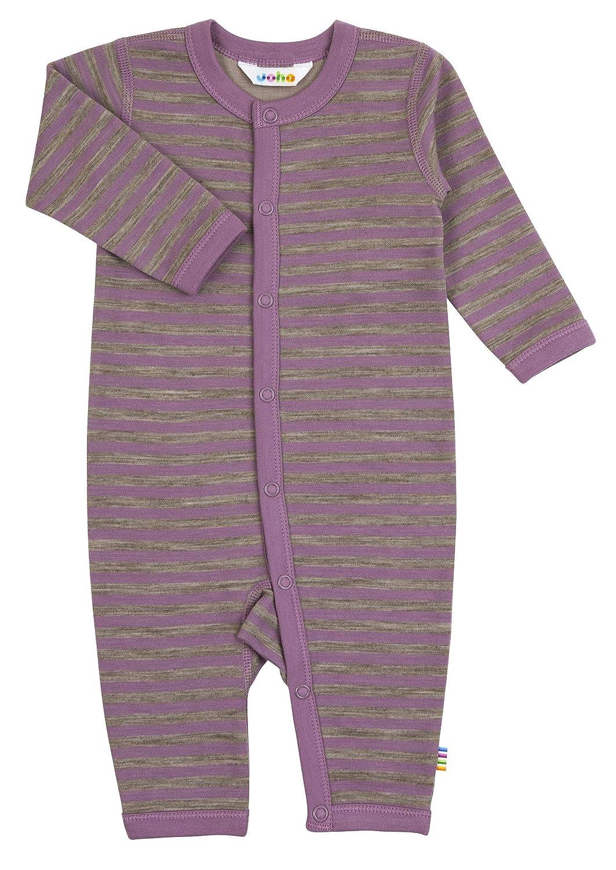 Joha Baby Schlafoverall Mädchen aus Merino-Wolle/Bio-Baumwolle