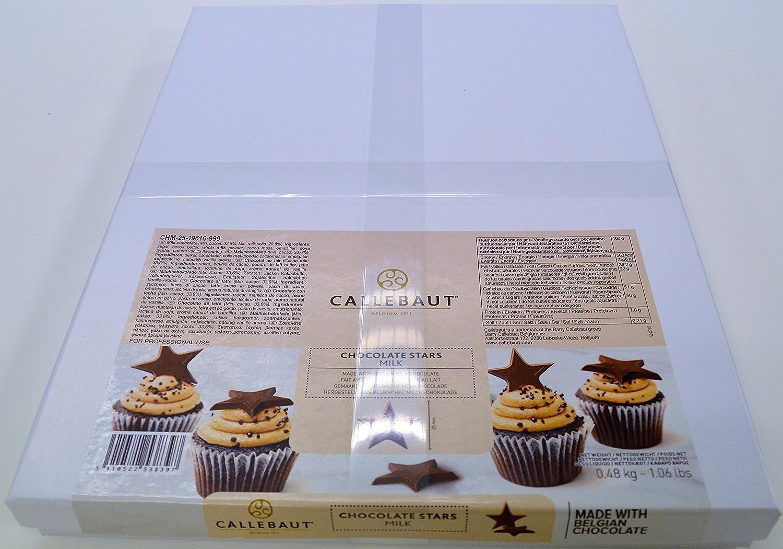 Callebaut Estrellas de Chocolate con Leche (352 piezas) 480g: Amazon.es: Alimentación y bebidas