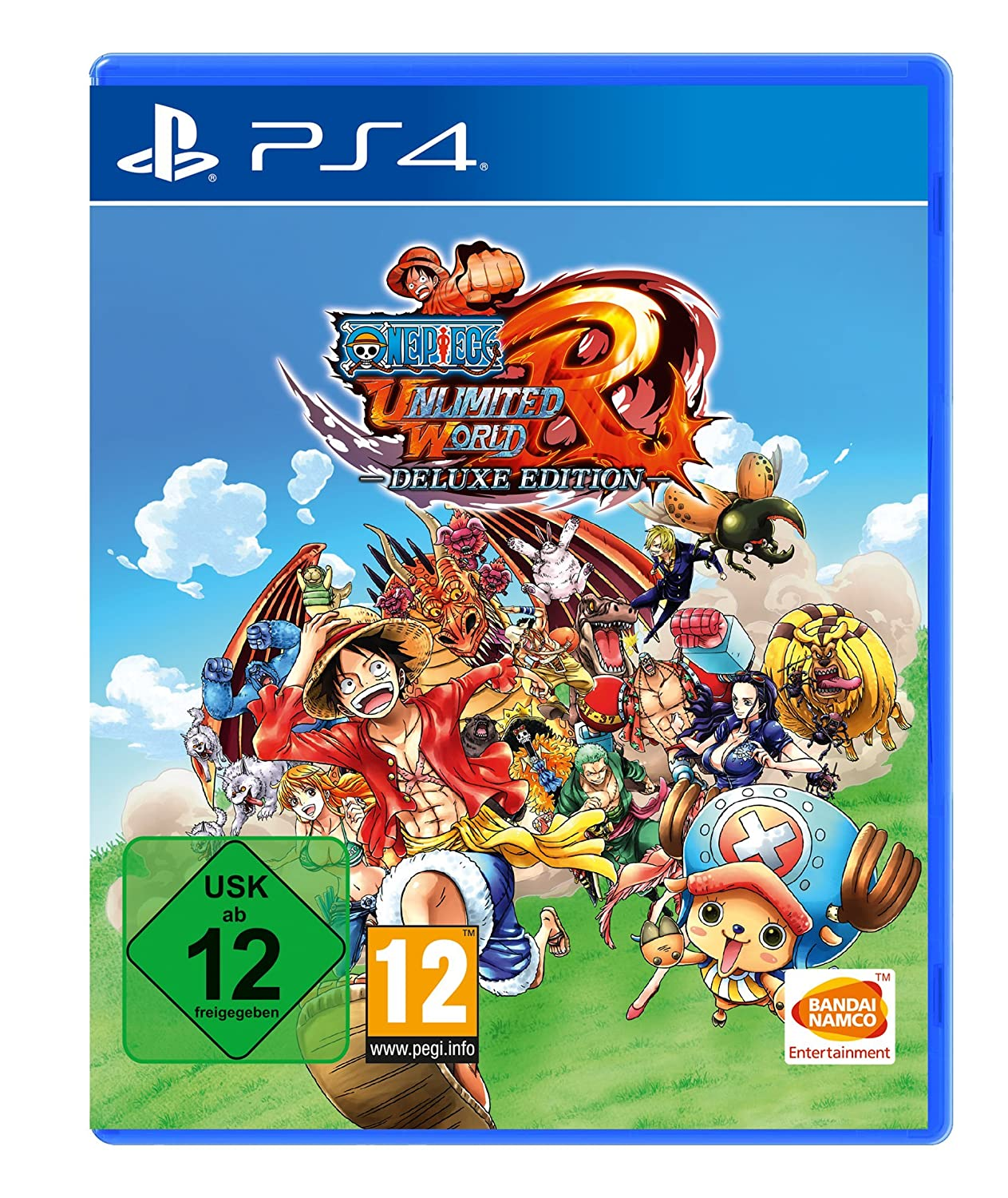 One Piece Unlimited World Red - Deluxe Edition - PlayStation ...