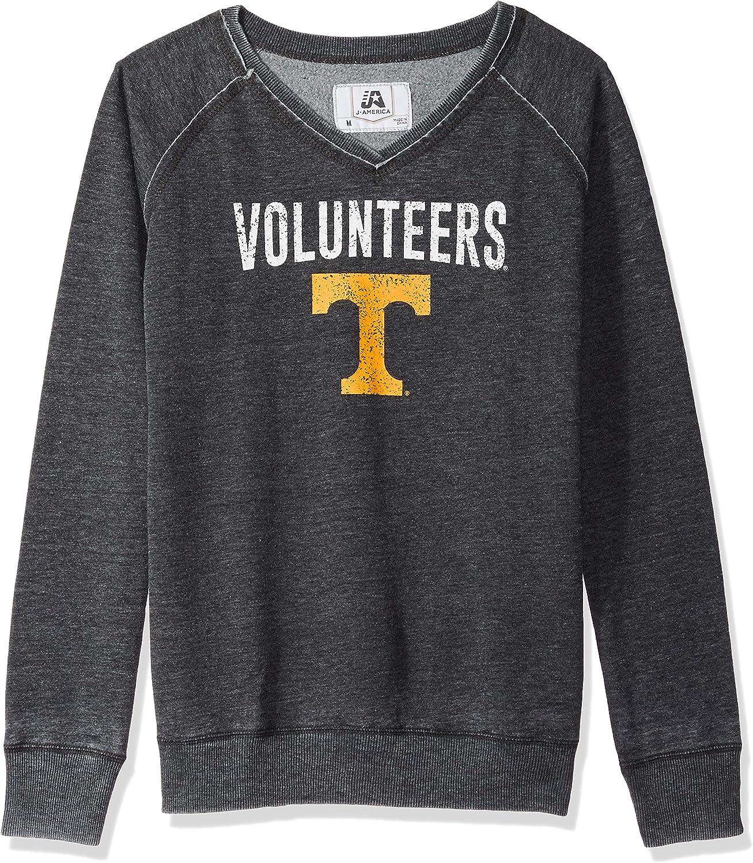 America NCAA Womens Achieve Fleece Crew Sweatshirt J