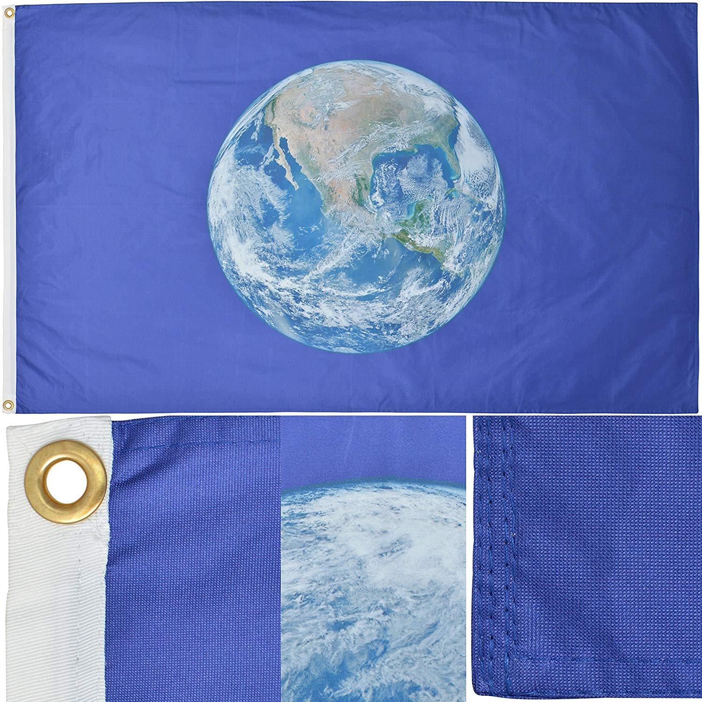 Planet Earth Flag 5/' x 3/'