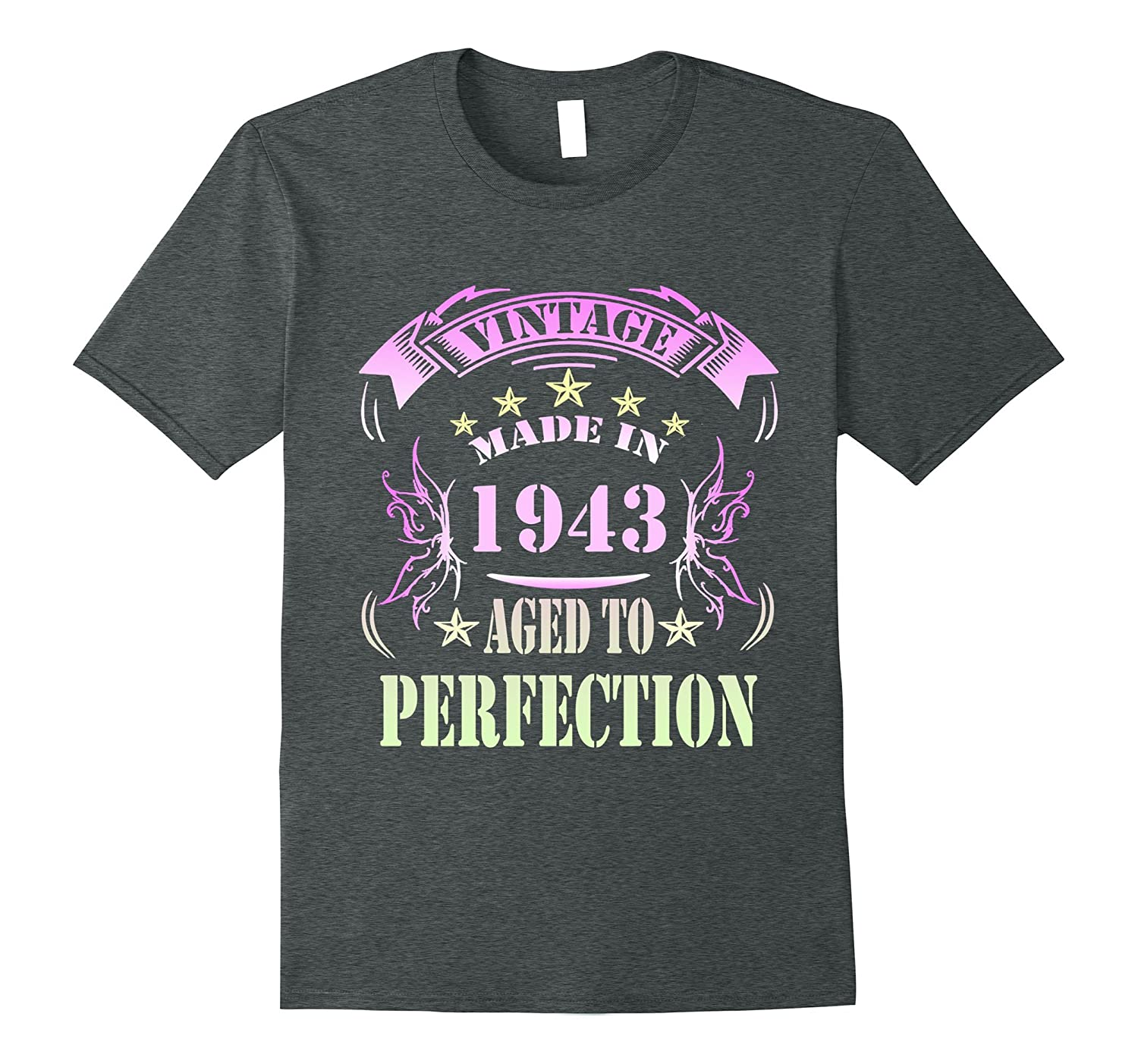74 Birthday Vintage Made in 1943 Gift ideas Man T shirt-PL