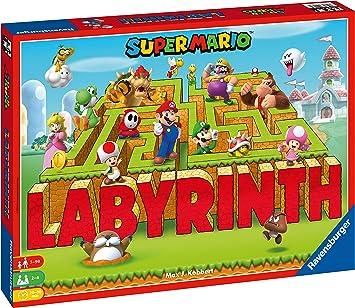 Ravensburger - Labyrinth Super Mario (26063): Kobbert, Max J.: Amazon.es: Juguetes y juegos