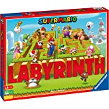 Super Mario Bros Labyrinth - The Moving Maze Family Board Game for Kids Age 7 Years and up