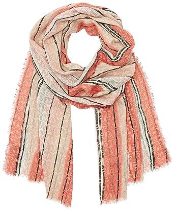 Emporio Armani 9241057P069, Écharpes Châles Femme, Multicolore (New Pink LT  Beige a1612784575