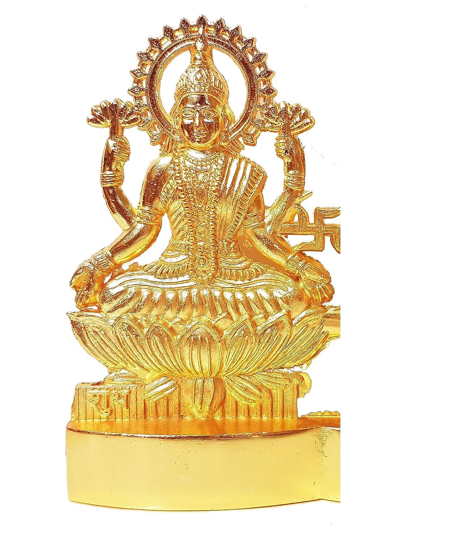 Boda casa de 4 Pulgadas Aniversario Festival de Diwali decoraci/ón Regalo para el hogar Craftsman Figura Decorativa Hindu Dios Lakshmi Ganesh de Metal con Forma de /ídolo Pooja Festival Indio