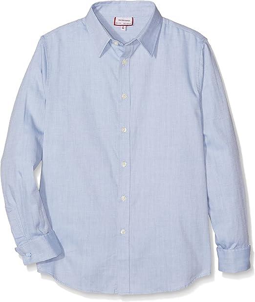 neck & neck 17V07401.21 Camisa Gemelos, Azul Claro, 2A para Niños: Amazon.es: Ropa y accesorios