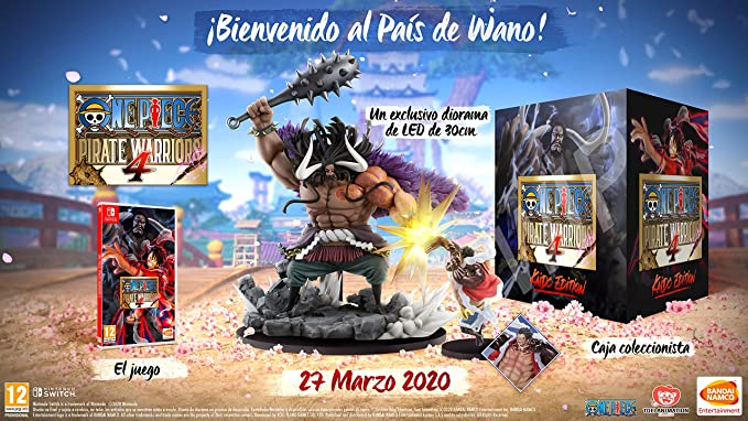 One Piece: Pirate Warriors 4 - Kaido Edition: Amazon.es: Videojuegos