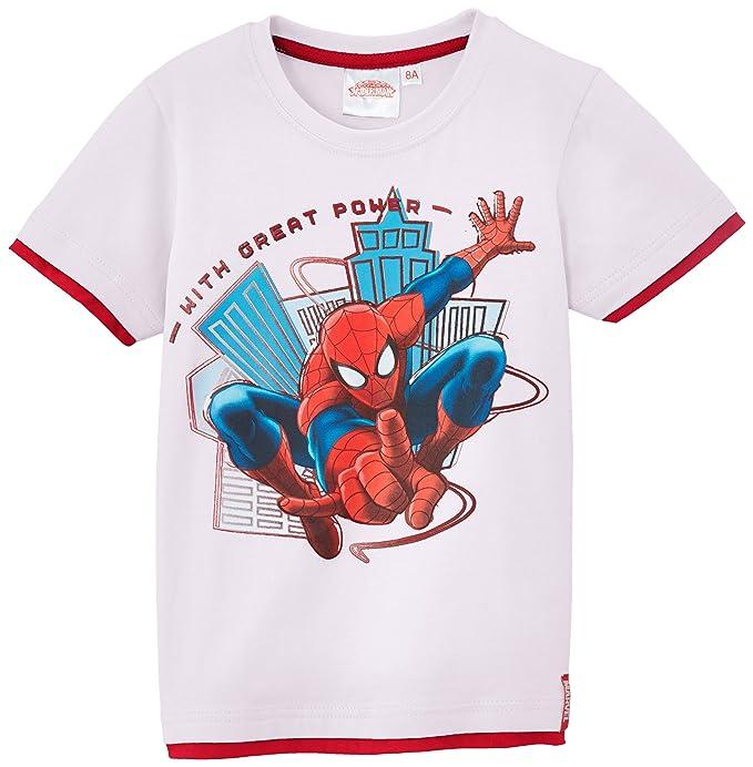 62d6dee20 Disney Spiderman - Camiseta de Spiderman para niño