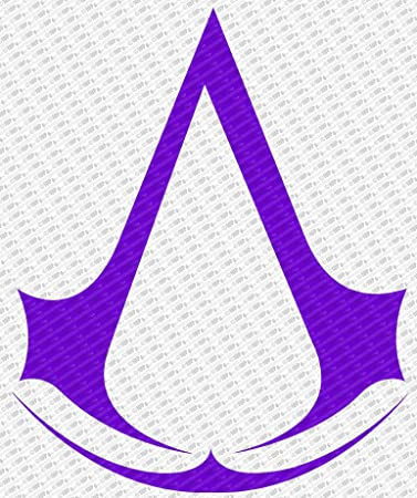 "Assassins Creed Logo Die Cut Vinyl Decal Sticker (10"", ..."