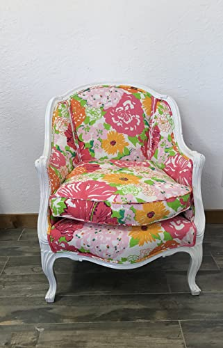 Lilly Pulitzer/Lee Jofa U0026quot;Heritage Floralu0026quot;, Vintage Louis XV  Bergere French