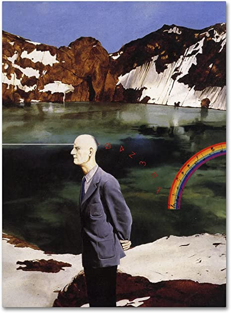 Wicklow By Nick Bantock 24x32 Inch Canvas Wall Art Posters Prints