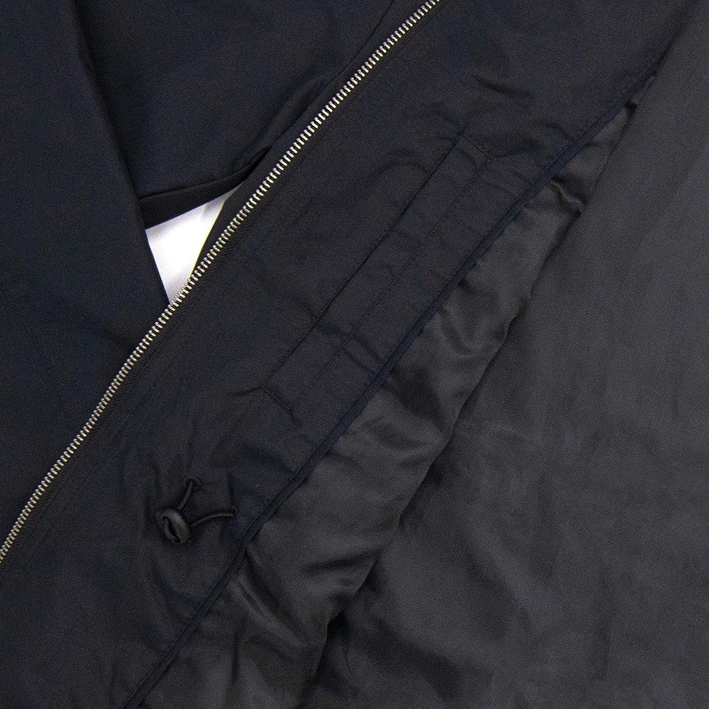 Front Breast Media Pocket Waterproof Cinch Waist 2 Side Pockets TAYLRD Lightweight Hooded Jacket