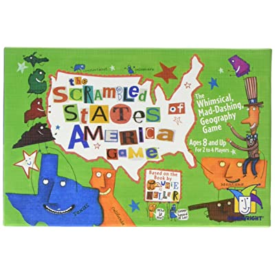 Ceaco The Scrambled States of America Game: Toys & Games [5Bkhe1105583]