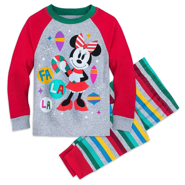 Amazon.com  Disney Minnie Mouse Christmas Pajamas for Kids Multi  Clothing a0fb9c7d9