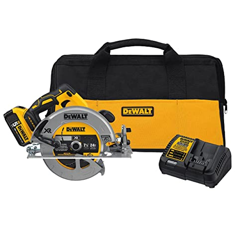 DEWALT 20V MAX 7-1 4-Inch Cordless Circular Saw with Brake Kit DCS570P1