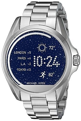 Michael Kors Access Bradshaw Silver-Tone Smartwatch