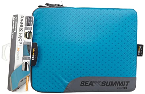 Sea to Summit Travelling Light Tablet Sleeve, Pacific Blue, Large