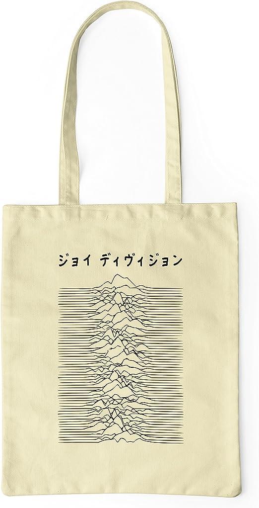 LaMAGLIERIA Bolsa de tela Joy Division Japan Black Logo - tote bag ...