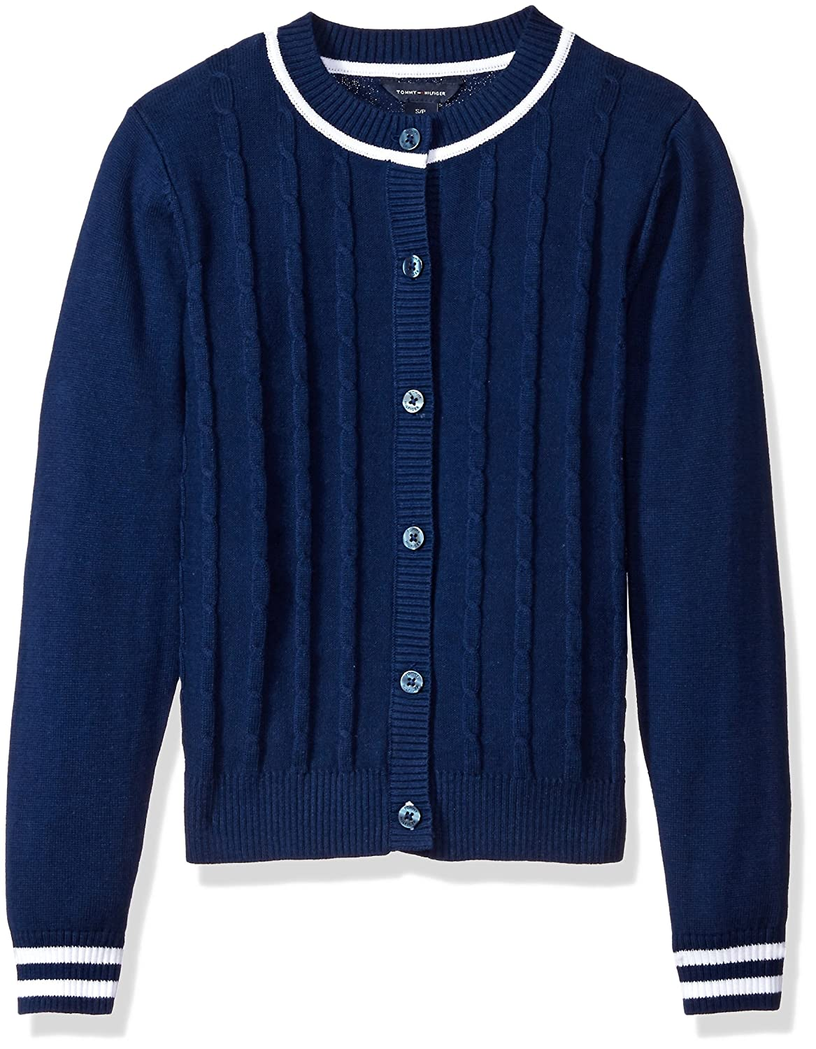Tommy Hilfiger Girls' Core Cardigan