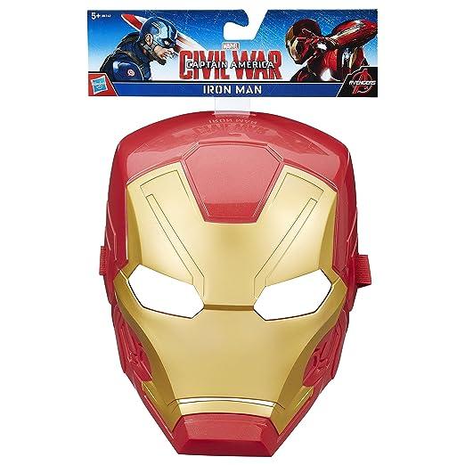 Marvel - Máscara Capitán América Guerra Civil Iron Man: Amazon.es: Juguetes y juegos