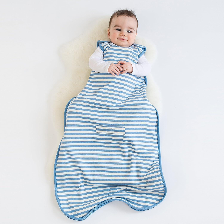 amazoncom woolino toddler sleeping bag 4 season merino wool baby sleep bag or sack 24 years blue bell clothing