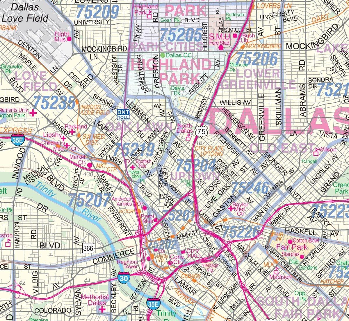 map of dfw dfw maps my blog dfw map fdaabcdaadefd - dfw zip code map kean university map