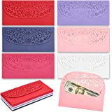 Laser Cut Currency Envelopes for Graduation Wedding and Birthdays (6.8 x 3.3 In, 36 Pk)