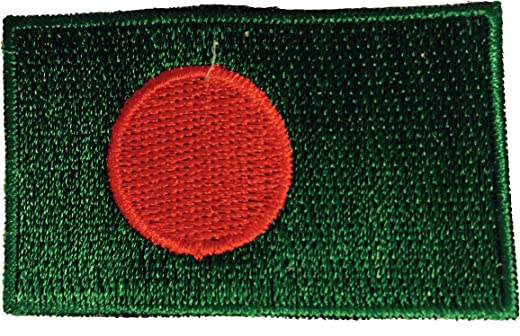 Flag Embroidered Iron on Sew on Badges Patches - Asia & Africa