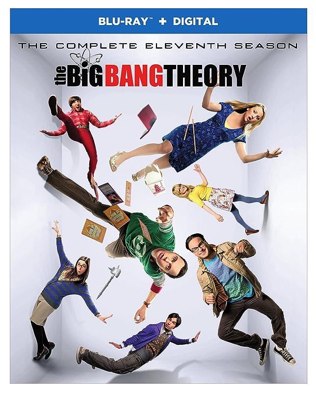 The Big Bang Theory《生活大爆炸 》全集 蓝光碟 2张 2.5折$9.99 海淘转运到手约¥87