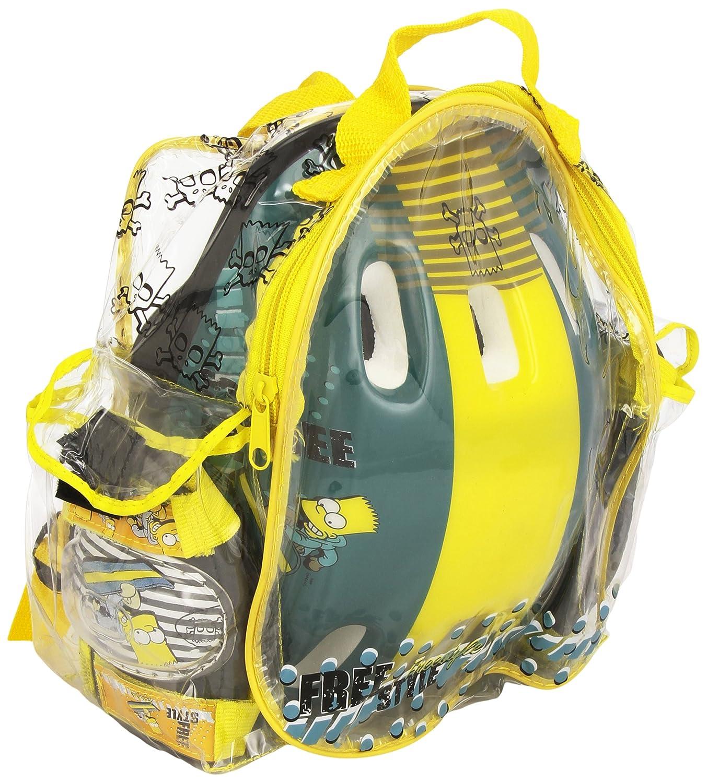 Los Simpson - Set de casco + protecciones (Saica Toys 0681)https://amzn.to/34QAinf