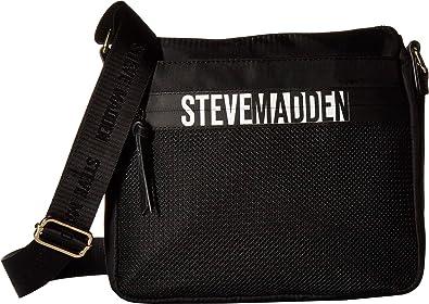 91a87cf6200 Steve Madden Women's Bgraill Crossbody Black One Size: Handbags: Amazon.com