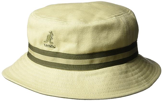 707f807d88653 Kangol Men s s Stripe Lahinch Bucket Hat  Amazon.co.uk  Clothing