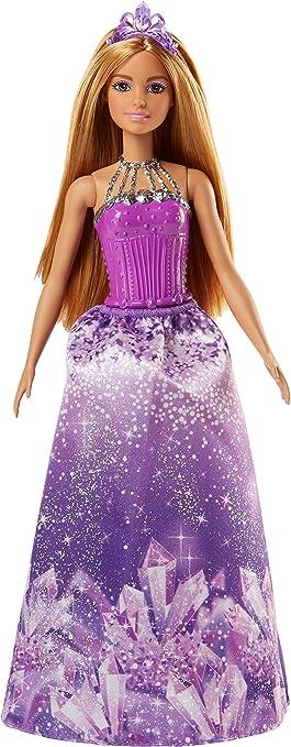 Amazon.es: Barbie Dreamtopia, muñeca Princesa falda lila, juguete ...