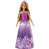 Barbie - Princesse Paillettes Poupée Mannequin, FJC97, Multicolore